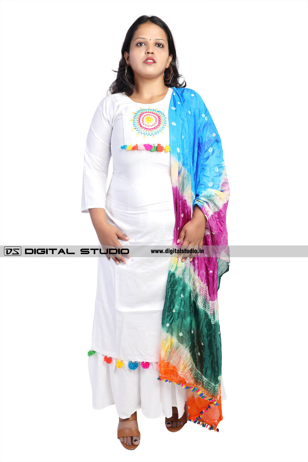 Indian dress for plus woman